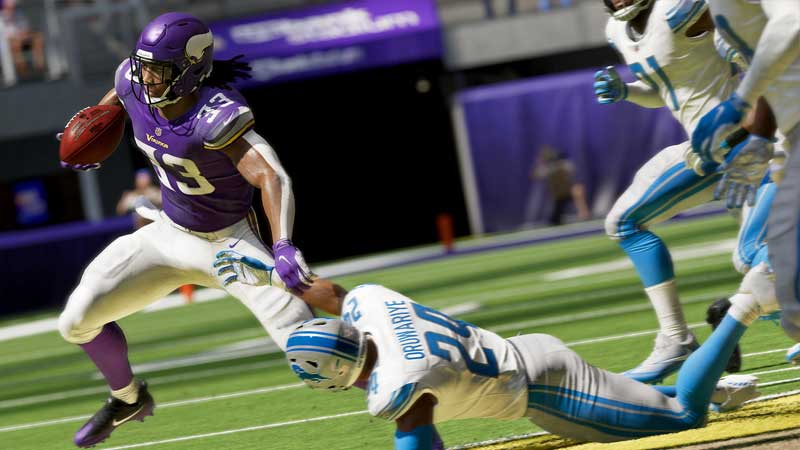 How to stiff arm in Madden 21