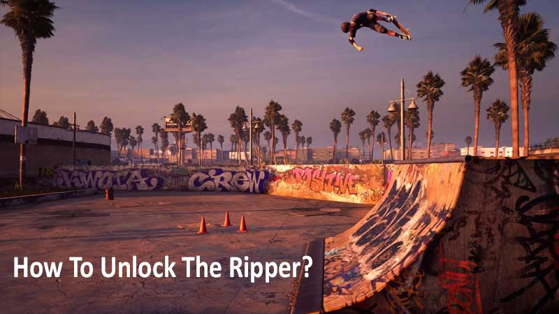 How to unlock the ripper in THPS 1 + 2