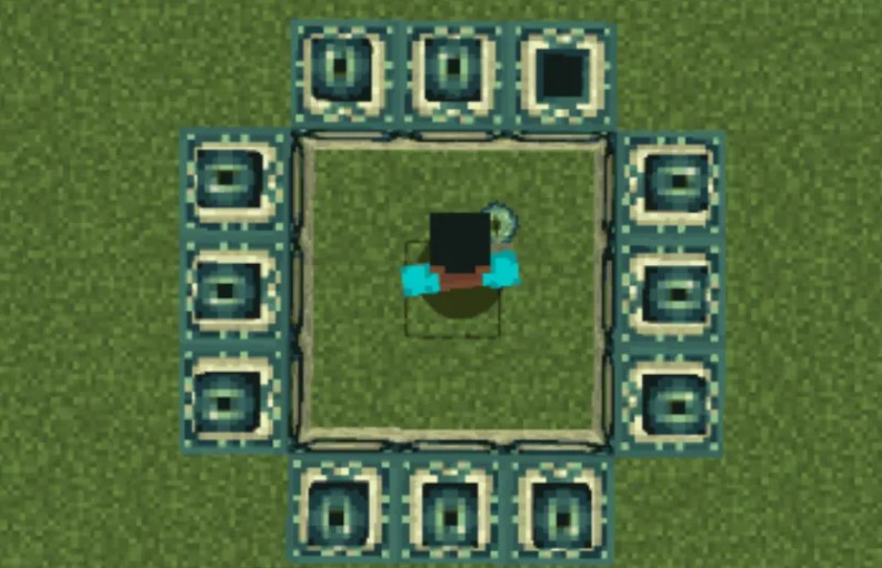 How to make End Portal in Minecraft?