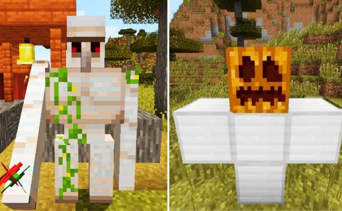 Make Iron Golem Minecraft