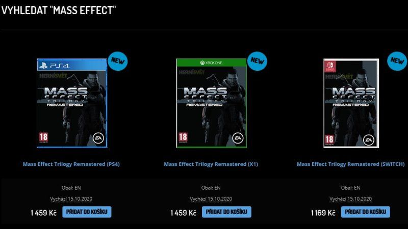 Mass Effect Trilogy Remastered Leaked