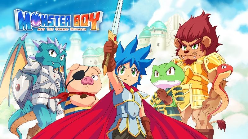 Monster Boy and the Cursed Kingdom PS5 & Xbox Series X