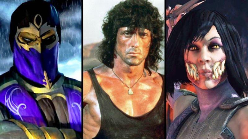 Mortal Kombat 11 Upcoming DLC Characters Rambo