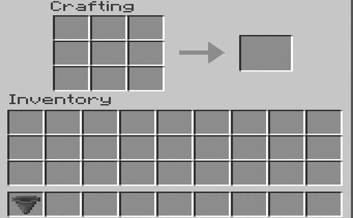 How to Make a Hopper in Minecraft?