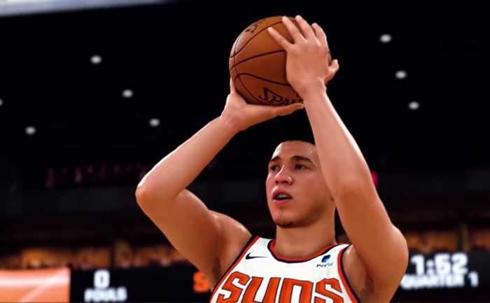 NBA 2k21 Perfect Shot