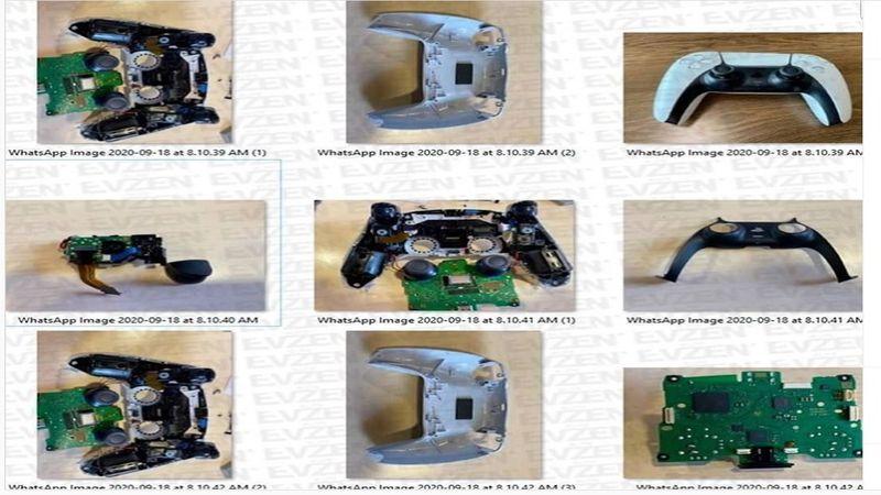 PS5 DualSense Controller Teardown Images