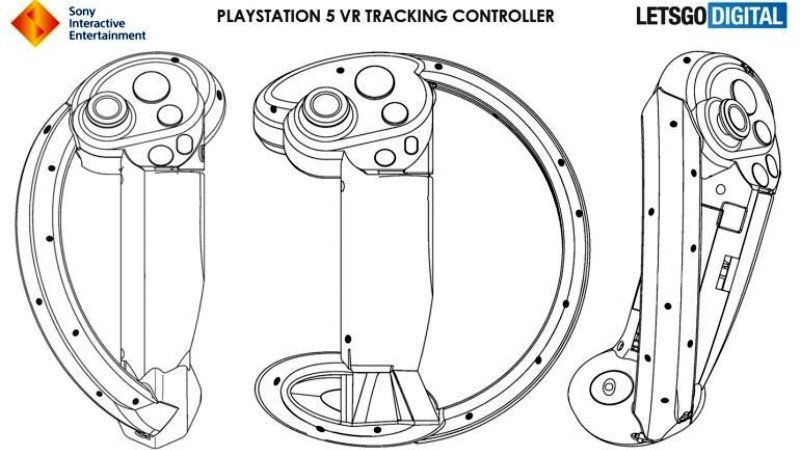 PSVR 2 Patent for PS5