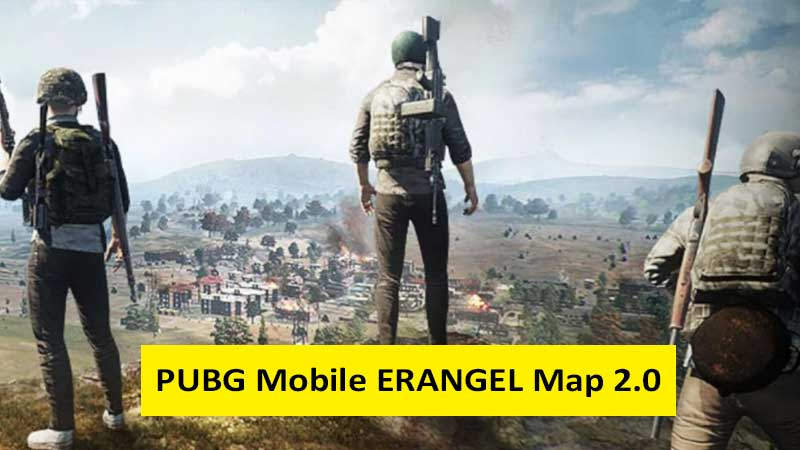 PUBG Mobile Erangel map update