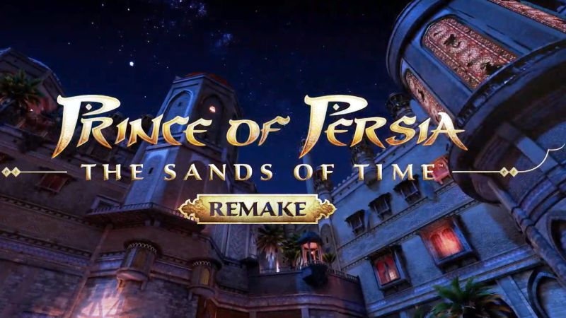 Prince of Persia: The Sands of Time Remake Official