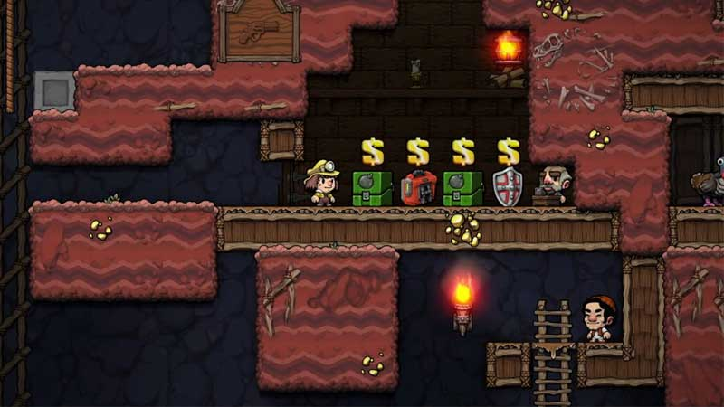 You can kill shopkeeper in Spelunky to get his weapons and other useful items. Here's how to kill the shopkeeper in Spelunky 2.