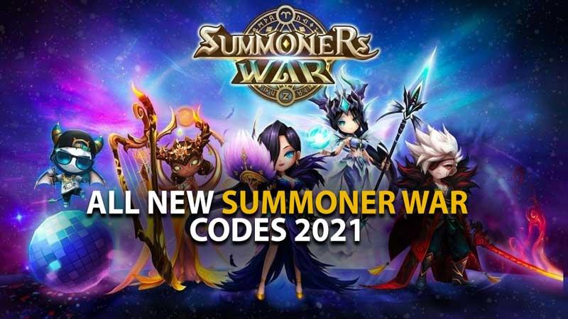 Summoner War Codes