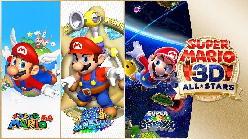 Super Mario 3D All-Stars Announced