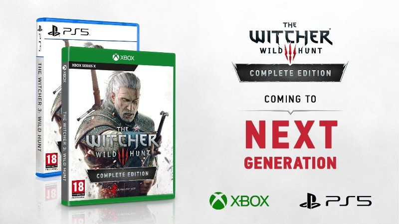 The Witcher 3 PS5, Xbox Series X