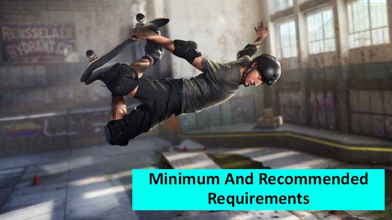 Tony Hawk's Pro Skater 1+2 PC Requirements