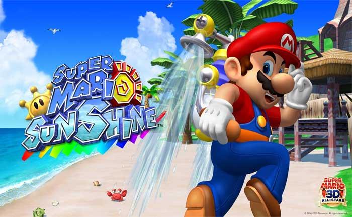 Turbo Nozzle Super Mario Sunshine