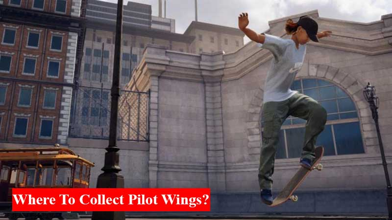 Where to collect 5 pilot wings on the Hangar in Tony Hawk's Pro Skater 1 + 2