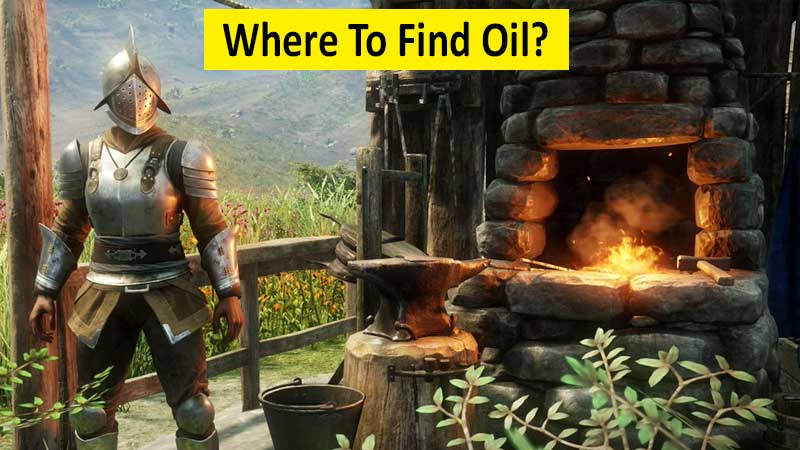 Where to find oil in New World