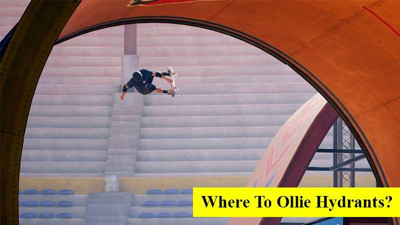 Where to ollie the hydrants in NY City in Tony Hawk's Pro Skater 1 + 2