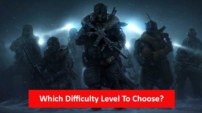 Which difficulty level to choose in Wasteland 3
