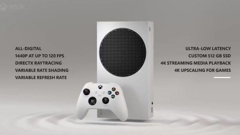 Xbox Series S Technical Specs