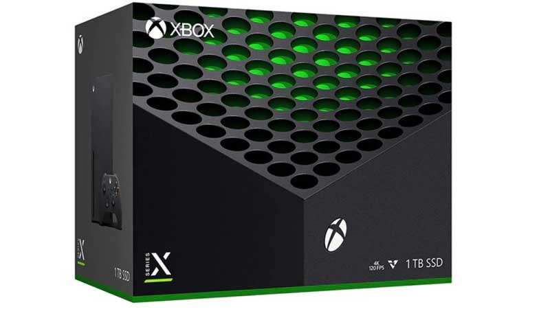 Xbox Series X Box Art