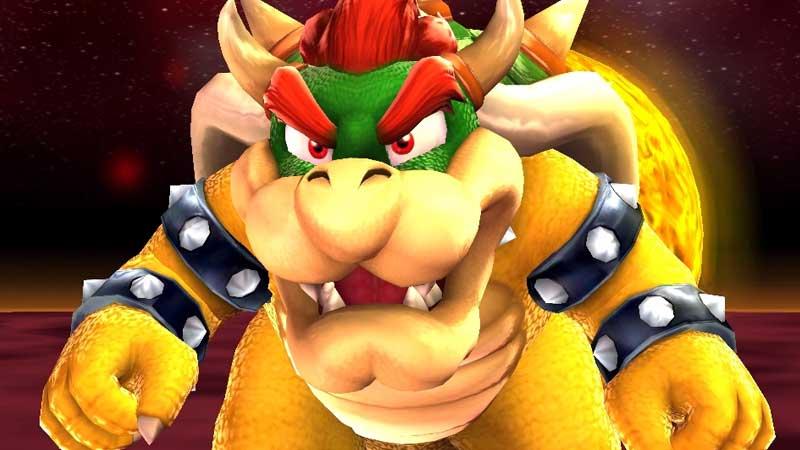 Defeat Bowser Super Mario Galaxy