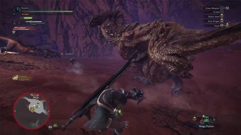 diablo monster hunter world