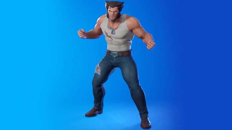 This is how Logan Skin looks in Fortnite