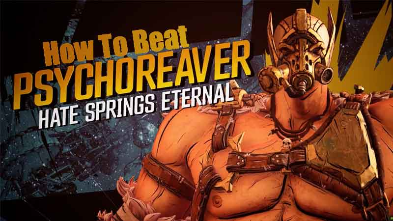 how to defeat the psychoreaver borderlands 3