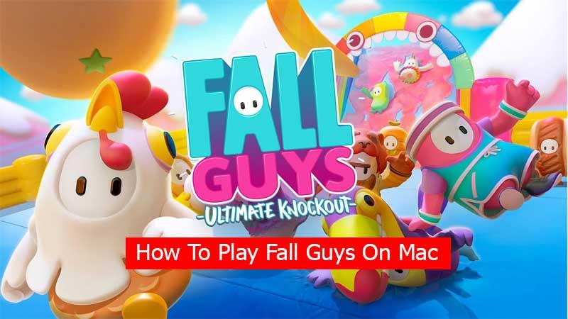 how to play fall guys on Mac