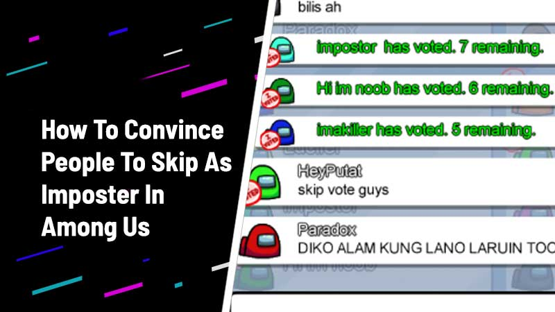 how to skip vote as imposter among us