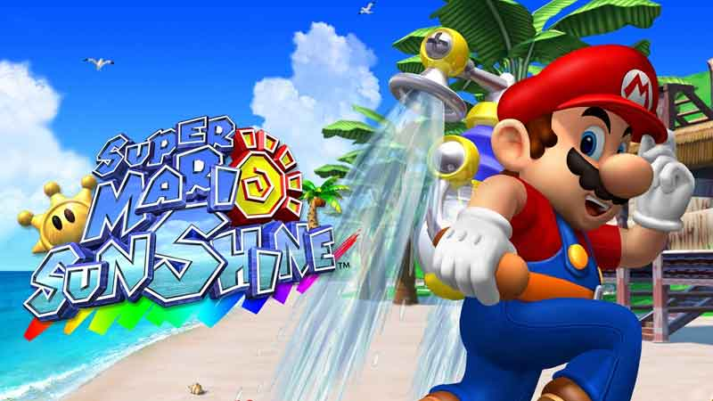 how to spray while running in super mario sunshine