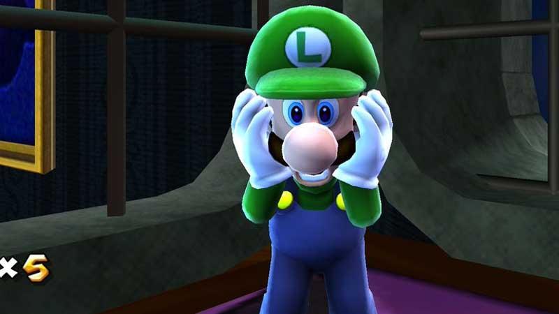 Super Mario Galaxy Luigi