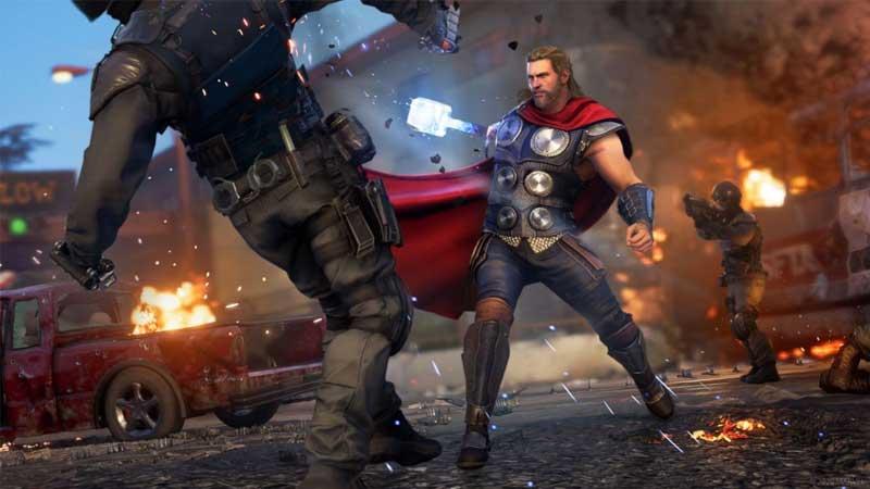 marvel avengers ps4 review