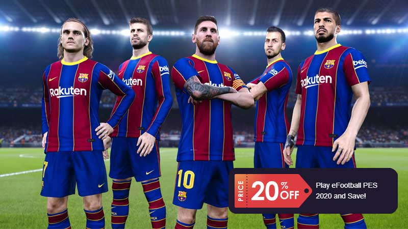 PES 2021 Club Edition Discount
