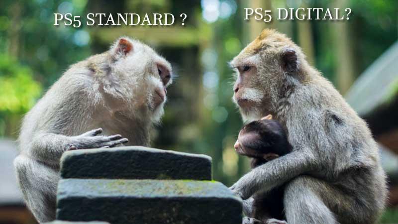 PS5 Digital vs PS5 Disc