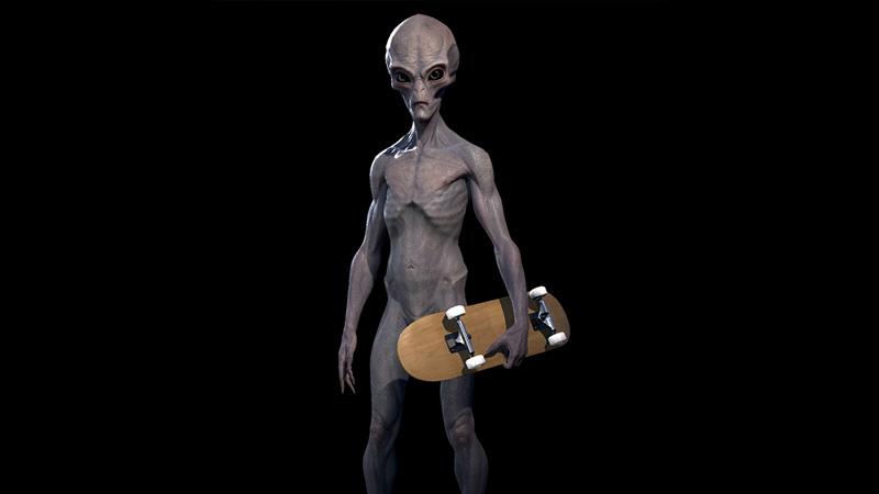 alien skater tony hawk's pro skater 1 + 2