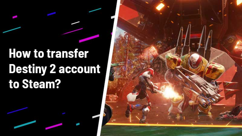 Transfer Destiny 2 Steam