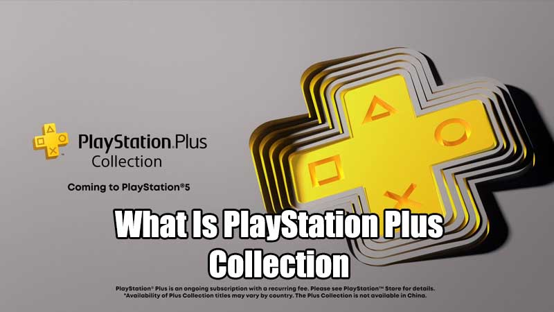 what is playstation plus collection