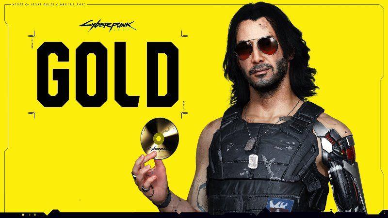 Cyberpunk 2077 Goes Gold