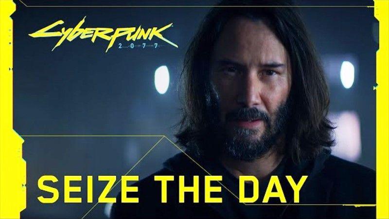 Cyberpunk 2077 TV Commercial Keanu Reeves