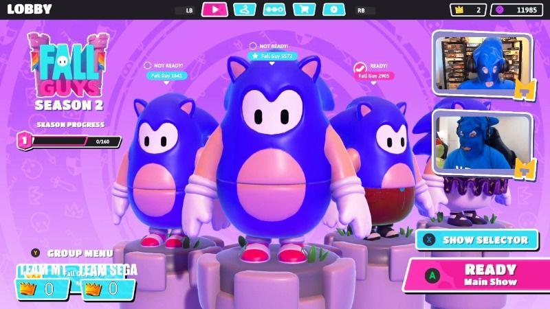 Fall Guys Will Get Sonic Skin