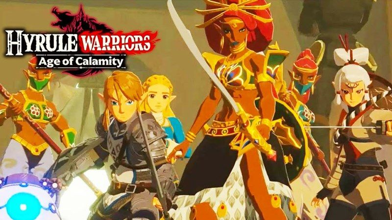 Hyrule Warriors: Age of Calamity 25 Minute Gameplay Video