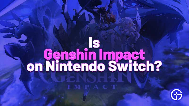 IS Ganshin Impact on Switch