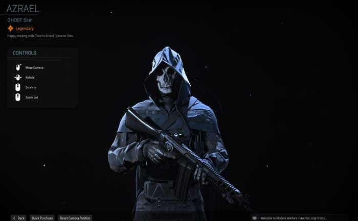 Modern Warfare Ghost Azreal Guide