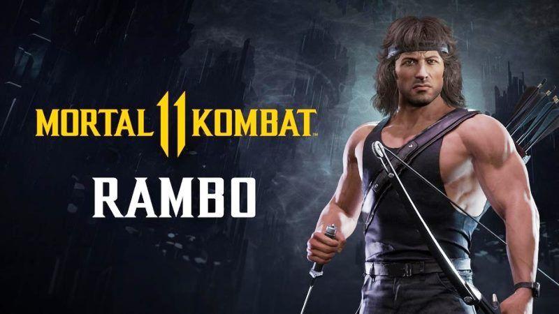 Mortal Kombat 11 Shows off DLC Character Rambo