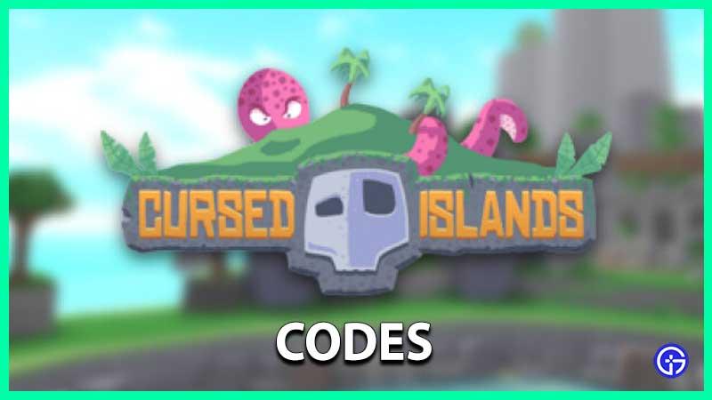 Roblox Cursed Islands Codes