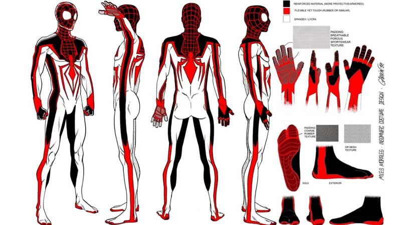 Spider-Man: Miles Morales Alternate Suit Design