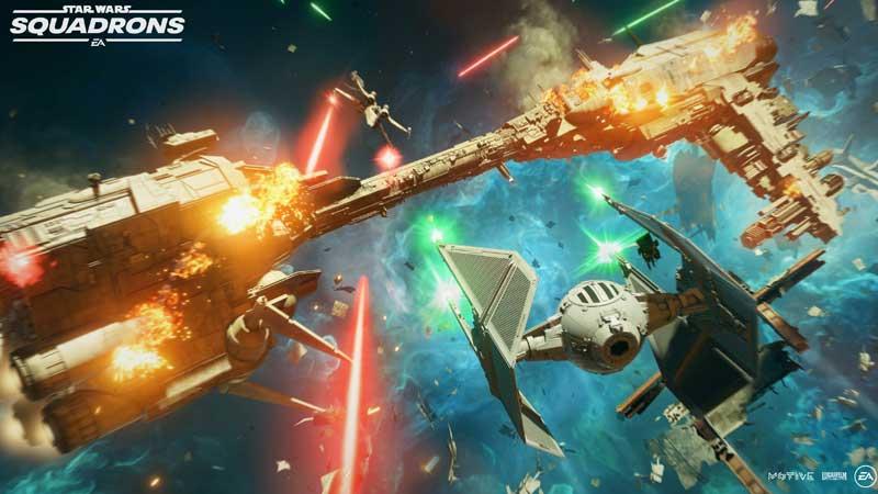 Star Wars Squadrons tutorial glitch