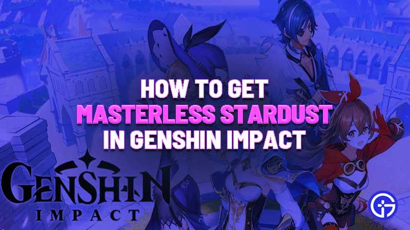 Unlock Masterless Stardust Guide